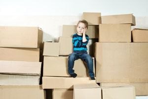 Tips para ayudar a los Niños a enfrentar una Mudanza