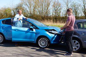 Ilustración de Cómo actuar ante un Accidente Automovilístico