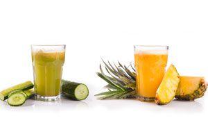 Combatir la Celulitis con un Jugo de Piña y Pepino