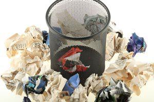 Cómo elegir el papel para hacer papel reciclado. Papeles no útiles para reciclar.