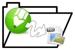 Ilustración de Cómo exportar archivos de Corel a Photoshop