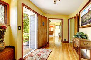 Ilustración de Cómo aprovechar los espacios en pasillos y halls