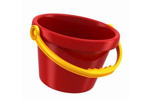 Cómo reutilizar un balde roto