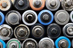 Ilustración de Cómo Reciclar las Pilas Usadas