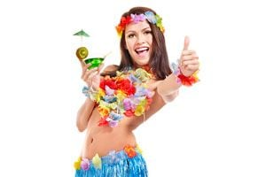 Ilustración de Cómo Planificar una Fiesta Hawaiana