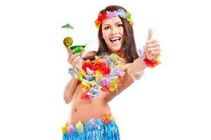 Cómo Decorar una Fiesta Hawaiana