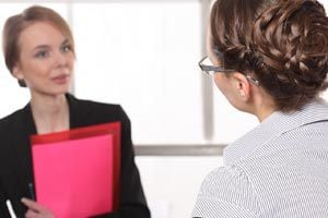 Ilustración de Cómo mantener la calma en una entrevista de trabajo