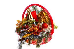Cómo armar canastas de Navidad personalizadas
