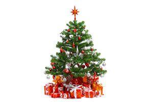 cmo disimular el pie de un rbol de navidad artificial - Arbol De Navidad Artificial