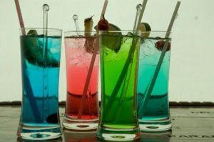 Cómo hacer Tragos y Bebidas de Varios Colores