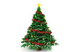 Ideas para decorar el árbol navideño de manera espiritual.