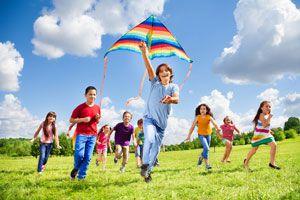Cómo organizar juegos al aire libre