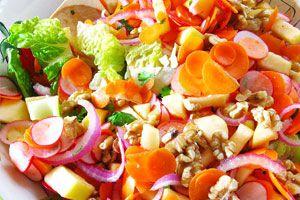 Cómo hacer una salad party