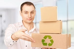 Ilustración de Cómo ayudar al medio ambiente desde nuestro trabajo