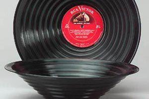 C mo hacer figuras con viejos vinilos - Plato discos vinilo ...
