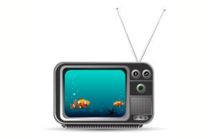 Ilustración de Cómo hacer una pecera en un viejo televisor