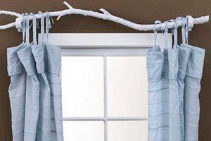 Cómo hacer originales barrales de cortinas