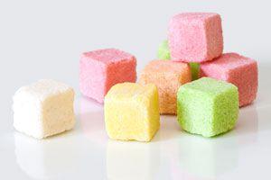 Cómo hacer azúcar de colores