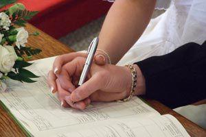 Cómo planificar una boda civil