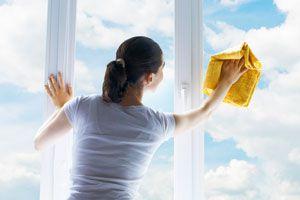 Cómo limpiar los cristales del hogar