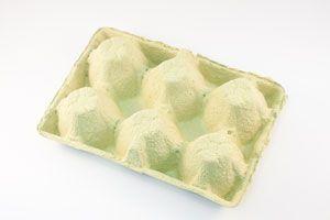 Cómo hacer un especiero con cajas de huevos.