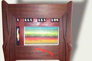 Ilustración de Cómo hacer decoraciones con viejos marcos de madera