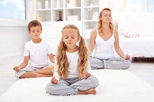Ilustración de Cómo Enseñar a los Niños a Meditar