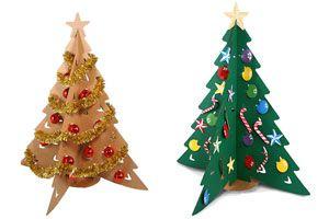Cómo hacer un Pino de Navidad de Cartón