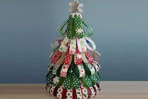 Como Hacer Un Arbol De Navidad Con Papel De Regalo - Hacer-arboles-de-navidad