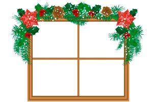 cmo hacer guirnaldas de navidad para decorar las ventanas - Guirnalda De Navidad