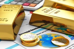 Ilustración de Cómo Comprar y Vender Oro