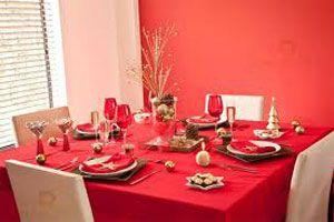 Manteles y servilletas para la mesa de fin de a o for Mesa de fin de ano