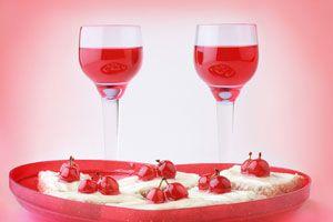 Cómo hacer un cóctel romántico para San Valentín