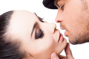 Ilustración de Cómo besar con pasión