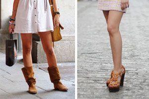Consejos para elegir las botas que combinen con la vestimenta. tips para la elección de las botas de acuerdo al vestido que uses.
