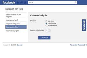 Cómo crear insignias de Facebook