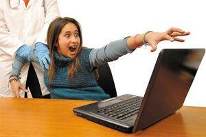 Ilustración de Cómo saber si soy adicto a Internet