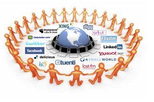 Ilustración de Lo Bueno y lo Malo de las Redes Sociales