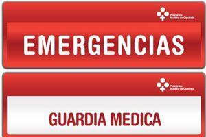 En que casos acudir a una Guardia Médica o Emergencias