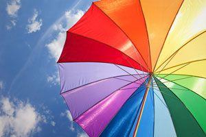 Cómo reparar un paraguas