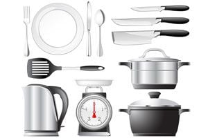 C mo equipar la cocina con utensilios b sicos for Utensilios de cocina para zurdos