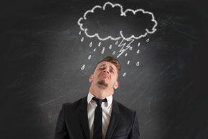 Ilustración de Cómo eliminar los pensamientos negativos