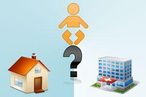 ¿Dar a luz en casa o en un hospital?