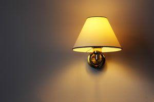 Ilustración de Cómo colocar una lámpara de pared