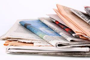 Ideas para reciclar o reutilizar papel periódico. Usos del papel periódico. Métodos para reciclar el papel de periódico