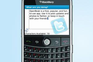 Ilustración de Cómo usar Twitter en el Blackberry