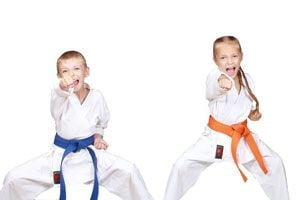 Deportes de lucha para niños