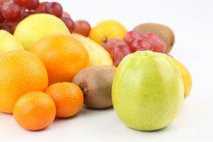 Ilustración de Frutas para combatir el colesterol
