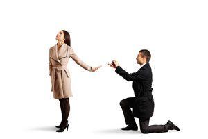 Cómo decir que no a una propuesta de matrimonio
