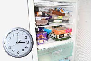 Cuanto duran los alimentos en el freezer? Tiempo de congelado para alimentos comunes. Lista de alimentos para congelar y su duranción en el freezer